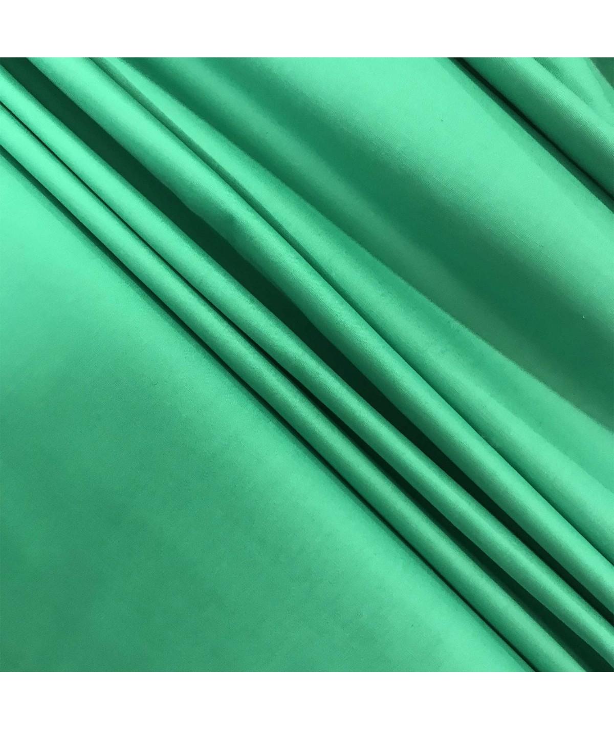 Bavlněné plátno trávově zelená