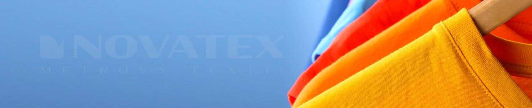 NOVATEX Metrový textil - Bavlněný úplet - všestranné využití - trička, legíny, šaty, tepláky, čepice